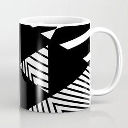 Black and White Duality Coffee Mug
