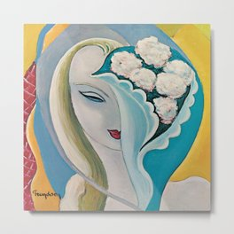 Layla and Other Assorted Love Songs 40th Anniversary Version Remastered by Derek - The Dominos Metal Print