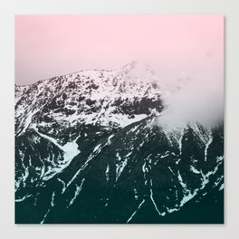 Mountains last forever Canvas Print