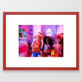 Dieting Together, 1989 Framed Art Print