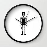 rihanna Wall Clocks featuring Rihanna by Band Land