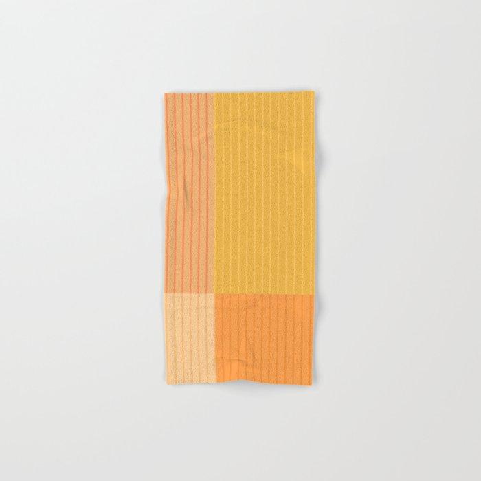 Color Block Line Abstract IV Hand & Bath Towel