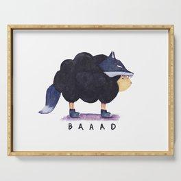 Baaad Baaad Black Sheep Serving Tray