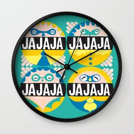 Hahaha culo hahaha ! Wall Clock