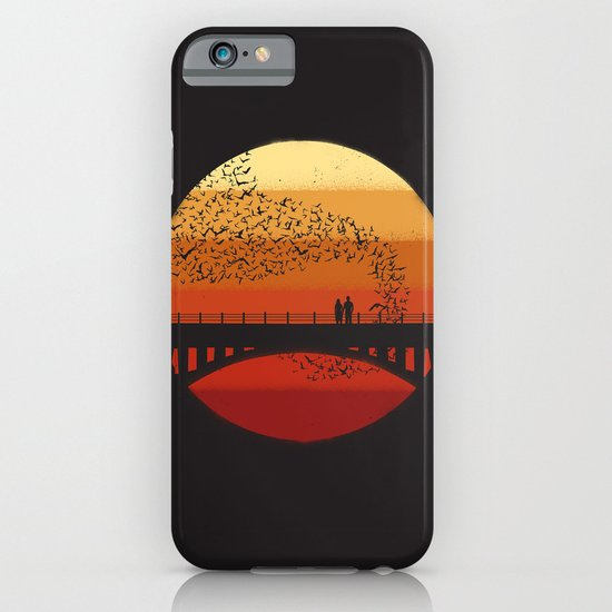 Into the Setting Sun iPhone & iPod Case
