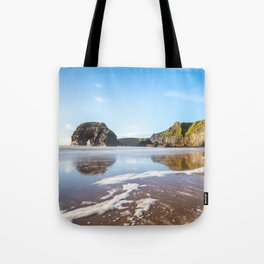 Nun's Beach Reflections Tote Bag