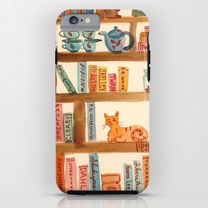 Bookshelf iPhone Case