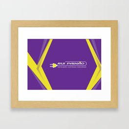 RP DESIGN Framed Art Print