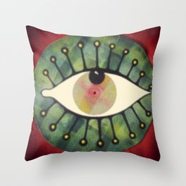 occhio yap 02 Throw Pillow