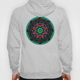 Mandala Energy in Neon Hoody