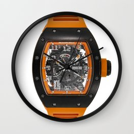 Richard Mille RM030 Americas Limited Edition Orange Black Carbon Watch Wall Clock