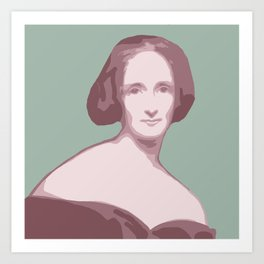 Mary Shelley Art Print