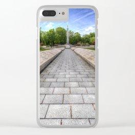 Soviet War Graves Budapest Clear iPhone Case