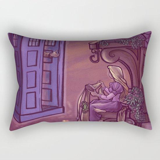 You Comin' Blondie?  Rectangular Pillow