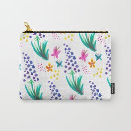 Muscari Wildflower Garden Carry-All Pouch