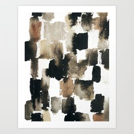 Brick by brick1 Art Print