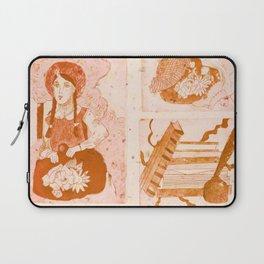 Anne of Green Gables Orange Laptop Sleeve