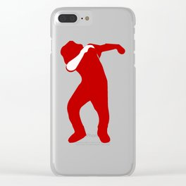 dabbing man Clear iPhone Case
