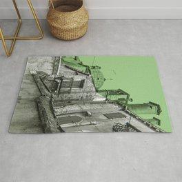 green Venice Rug