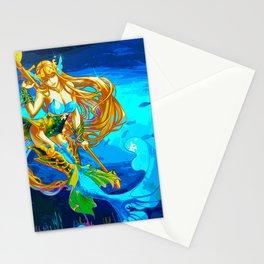 Atlantean Beauty 3 Stationery Cards