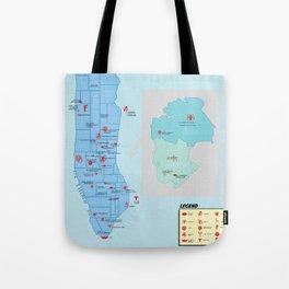 New York City- A Comic Book Tour Tote Bag