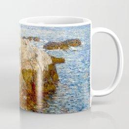Cliff Rock, Appledore, 1903 - by Childe Hassam Coffee Mug