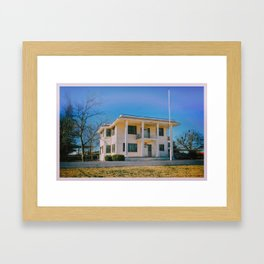 Texas Home Framed Art Print