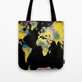 world map 36 Tote Bag