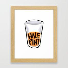 Half Pint Framed Art Print
