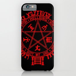 Hellsing Circle iPhone Case