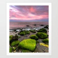 moss Art Prints featuring Moss by Wanowicz Grzegorz