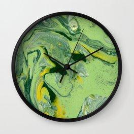 melt | fluid acrylics Wall Clock