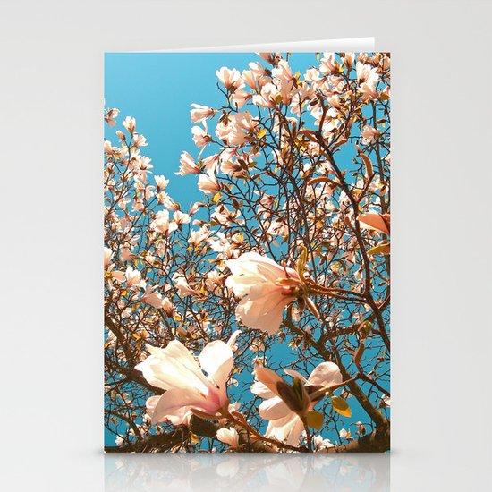 magnolia tree II Stationery Cards