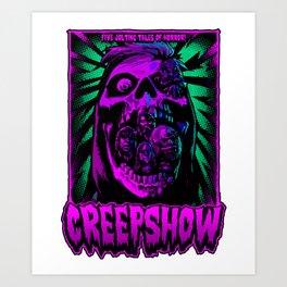 The Creepshow Art Print