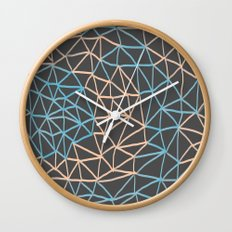 Non-linear Points Wall Clock
