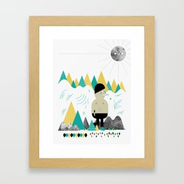 Giant! Framed Art Print