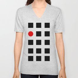 Must Fit In (Circle) Unisex V-Neck