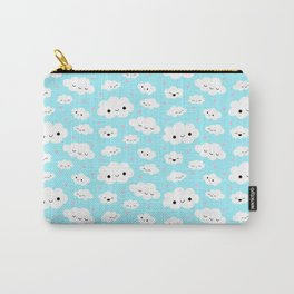 Happy Clouds in the Sky Carry-All Pouch