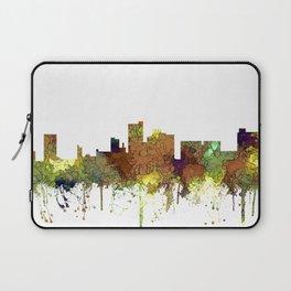 Lubbock, Texas Skyline - Safari Buff Laptop Sleeve