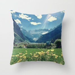 Lake Louise Dream Throw Pillow