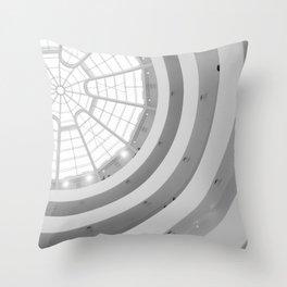 Guggenheim Interior | Frank Lloyd Wright Architect Throw Pillow