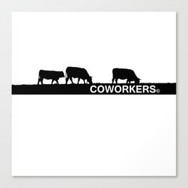 coworkers© Canvas Print