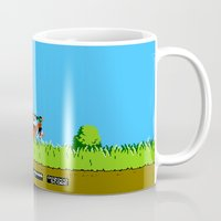 gameboy Mugs featuring Gameboy by Janismarika