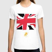 uk T-shirts featuring uk by John Choi King