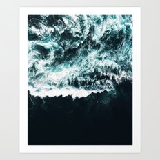Oceanholic #society6 Decor #buyart Art Print