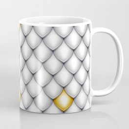 Fish Scale Pattern Design Coffee Mug