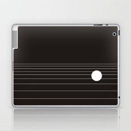 Calm water Lake Moon Minimal Laptop & iPad Skin