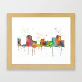 New Orleans, Louisians Skyline Framed Art Print
