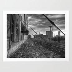 St. Louis Vacancy Art Print