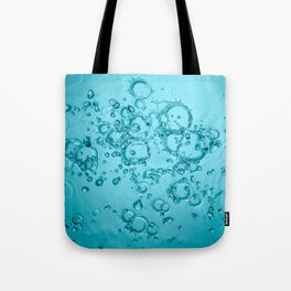 Water Background Tote Bag